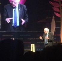 A weekend with Bernie Sanders