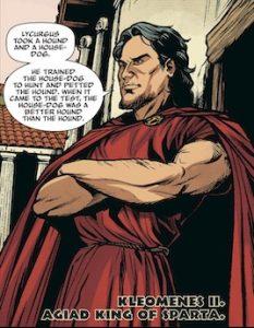 Character introduction: Kleomenes II