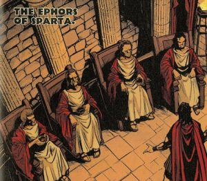 Character introduction: the Ephors