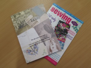 Life Lines book and Sewing World magazine.
