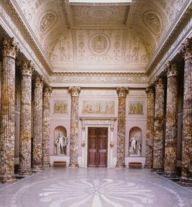 The Marble Hall, Kedleston Hall (digitised slide from teh Humanities slide collection, DHC, UoN.