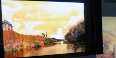 Athanasia Panopoulou's Photoshop reworking of Turner's 'Nottingham'.