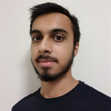 A profile pic of FoA student and DTH volunteer Kavi Mistry