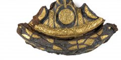 Gold sword pommel