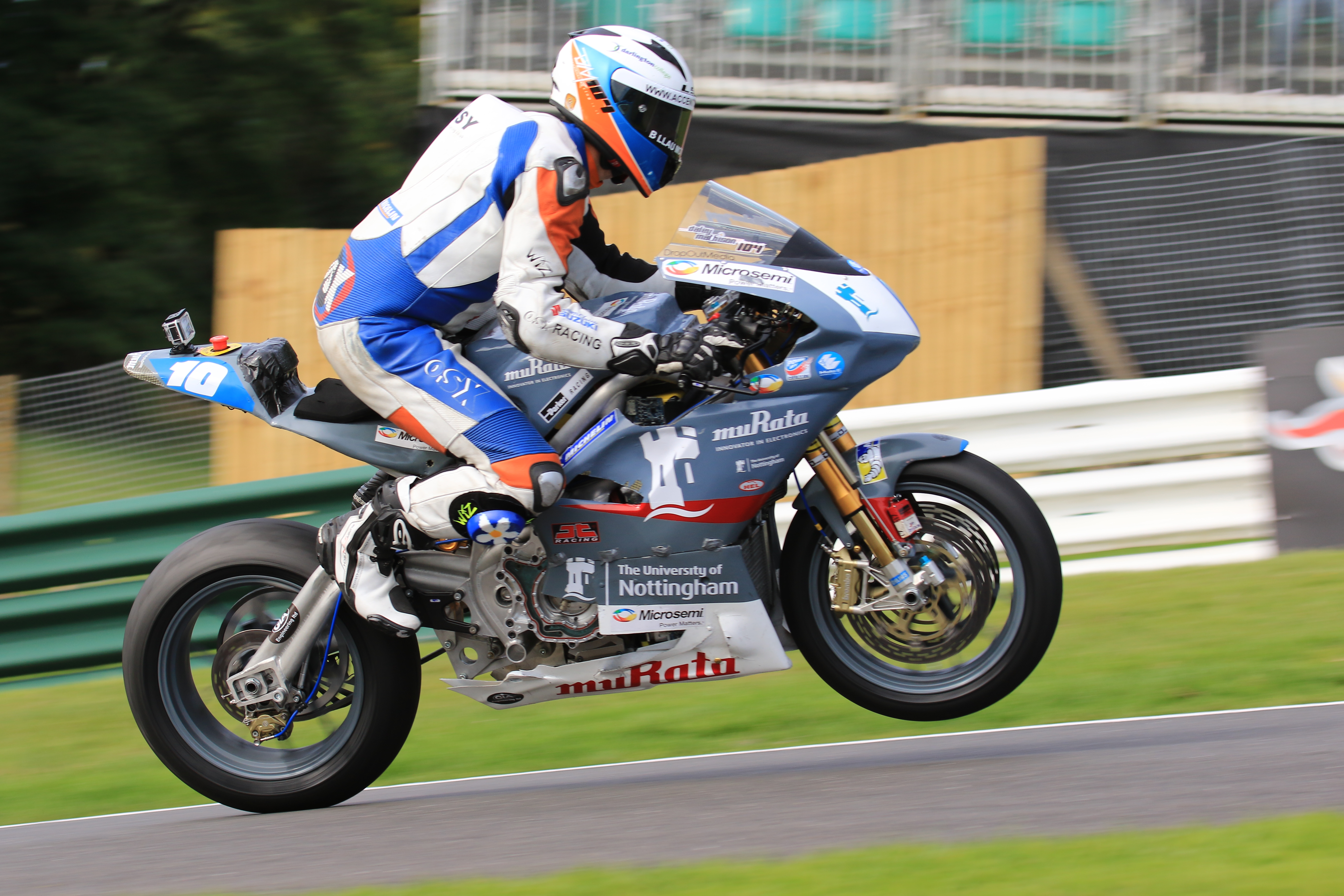 Cadwell Park Update - PEMC Research Group - Electric Bike Project
