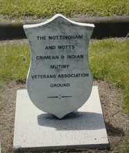 The Veterans Ground in the General Cemetery, Nottingham