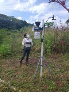 Testing damaged weather stations