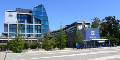 The Parkville Campus at University of Melbourne