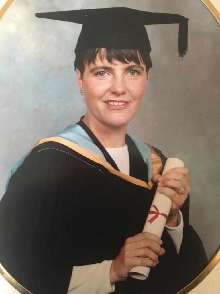 Dr Katharine Whittingham at her graduation
