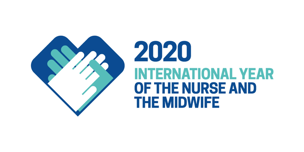 2020 International Year of the Nurse and the Midwife logo