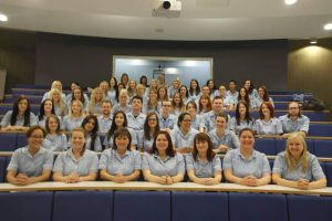 a group of NHS staff