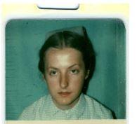 Professor Dame Jessica Corner when she was a young nurse