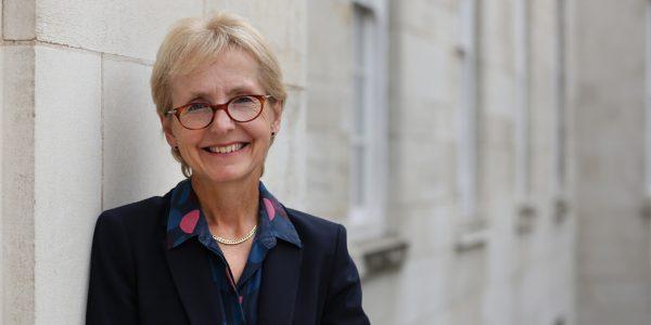 Professor Dame Jessica Corner smiling