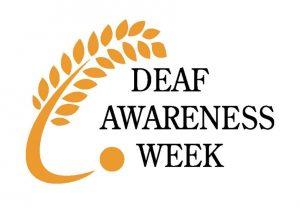 Deaf Awareness Week logo