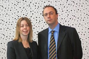 Linda Frier and Duncan Shaw