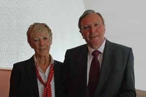 Linda Brentnall and Bob Berry