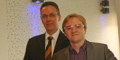 Stuart Ross and Dr Mat Hughes