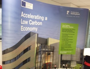 Accelerating a low carbon economy stand