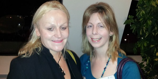Heather Stanford and Linda Frier