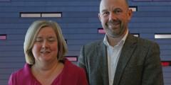Dr Deborah Roberts and Matt Hague