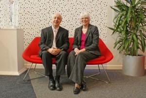 Steve Diacon and Margaret Burrell