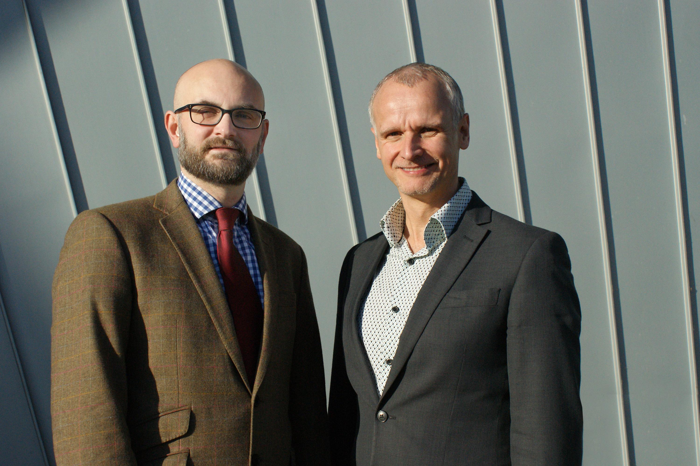 Andrew Greenman and Tony Brooks