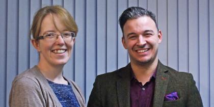 Dr Liz Evans & Ben Smithwell