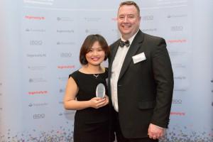 Ingenuity Lab Member, Lli Zhu and Director of The Asia Business School, Jason Feehily