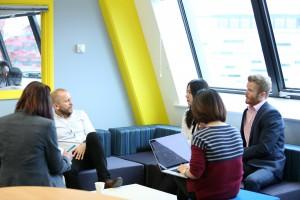 Steven Chapman, Steve Chapman, Ingenuity Lab, Business Meeting, business University of Nottingham, lili zhu, lian, asia business prize ingenuity16, chris colegate, UoN Marketing team, business nottingham