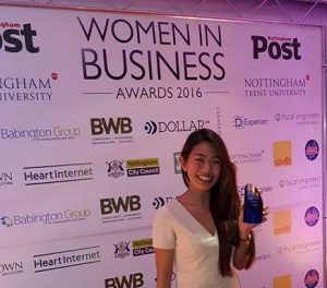women in business, jordana chin, women in business awards 2016, nutri2go, new business of the year