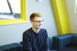 Daniel Higginson, Wraptime intern, The Ingenuity Lab