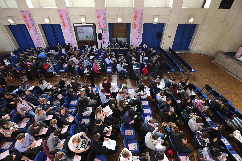 Ingenuity17, Ingenuity17 Conference, entrepreneurs nottingham, new businesses in nottingham, great hall, trent building, nottingham university, university of nottingham, ingenuity17 bootcamp