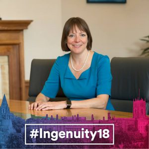 ingenuity18, shearer west, university of nottingham, vice-chancellor