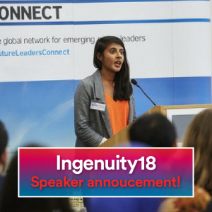 Kajal odedra, ingenuity18, change.org, uk change.org, ingenuity18 speaker, ideas summit