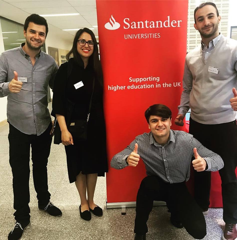 Santander EA18 Awards, Ingenuity Lab members, Citylife UK, Halalivery, entrepreneur