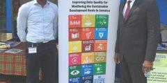 Witty Scholar Shaq Gibson in Jamaica on internship
