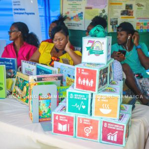 UN Sustainable Goals, roadshow, Jamaica