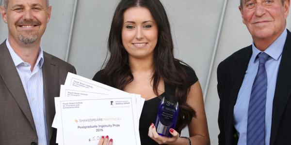 Nottingham UK Entrepreneur Award Winner