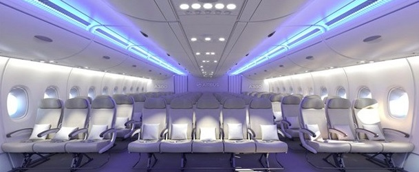 3-5-3 Seating arrangement by Airbus