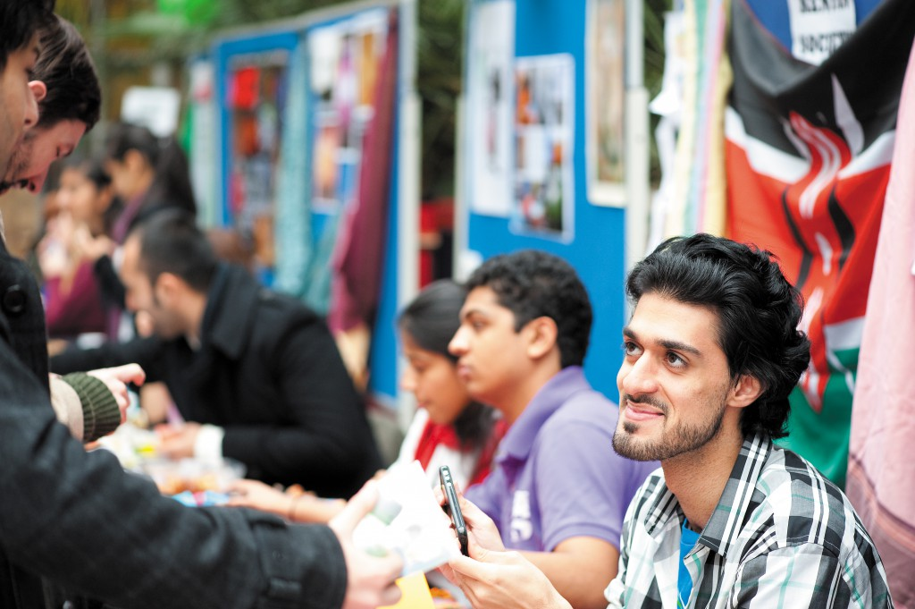The Arabic Society at a fair