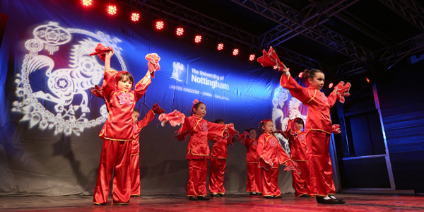 Chinese New Year at The University of Nottingham