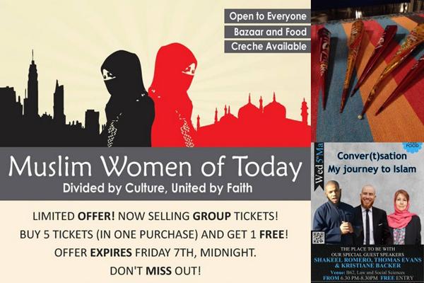 Past Islamic Society events