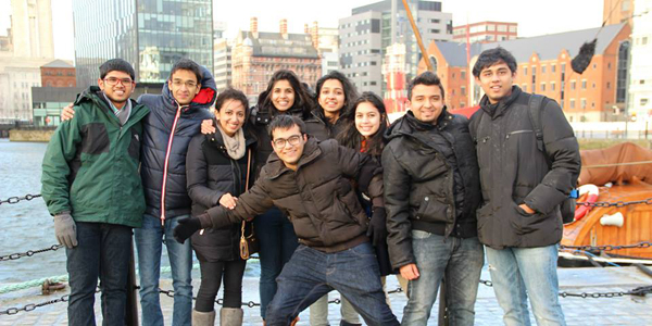 A trip to Liverpool with my new coursemates