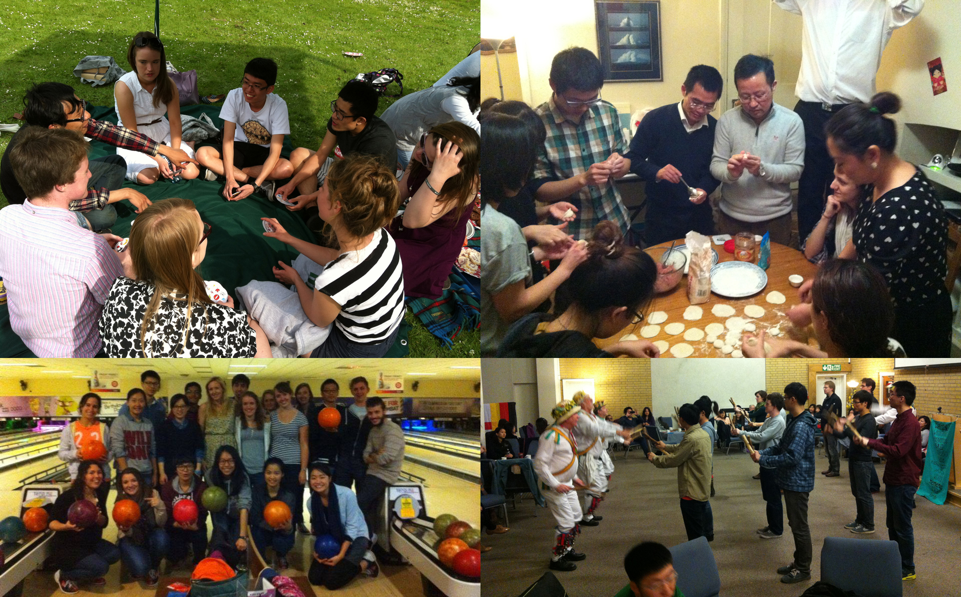 The Christian Union organises fun activities such as games, cookery and dancing