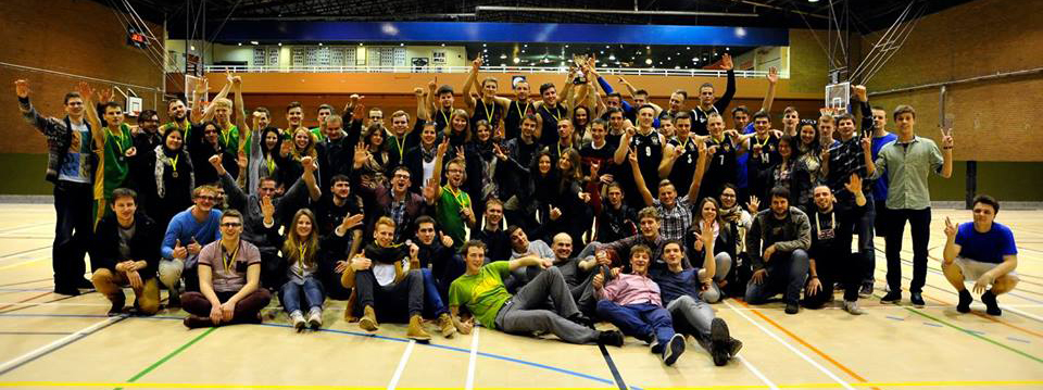 Last year the Lithuanian Society organised a basketball tournament