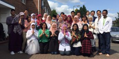 Nottingham Indonesian Society Eid Prayer