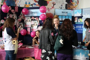 Student society stalls at the Welcome Festival
