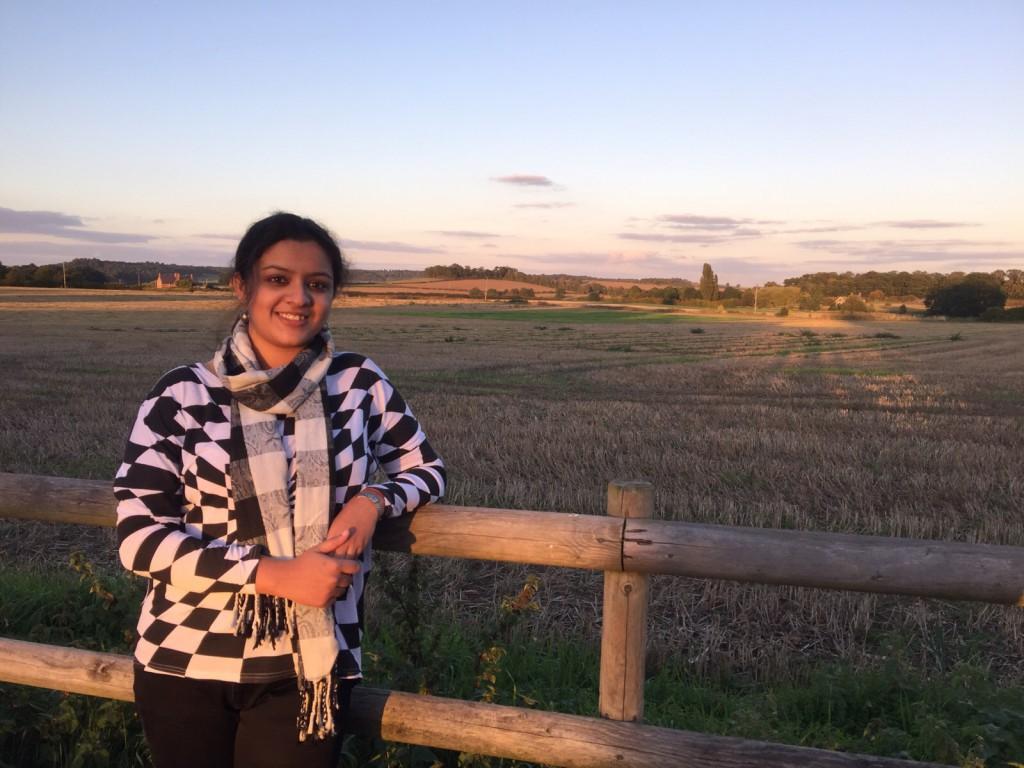 Enjoying the open fields