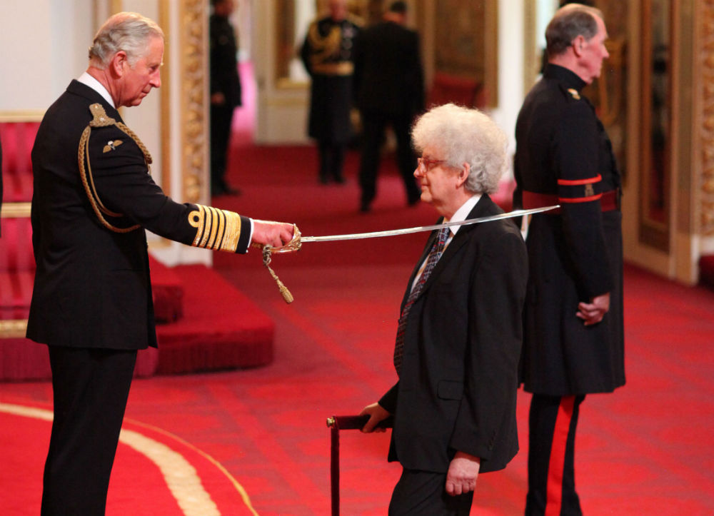 Professor Sir Martyan Poliakoff knighted by HRH Prince Charles