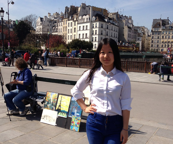 Meet our Student Callers: Eve from China | International